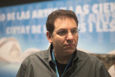 Kevin Mitnick durante la entrevista. / SANTIAGO CARREGUÍ